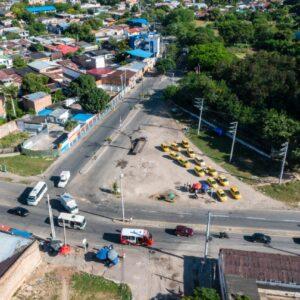 COMIENZAN LAS OBRAS DE CONSTRUCCIÓN EN LA GLORIETA DE GIRARDOT
